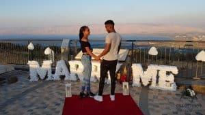 כנרת הצעת נישואין