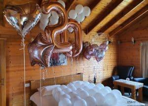 סידור חדר צימר בלונים ליום הולדת (31.1.20)00015