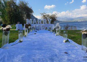 הצעת נישואין בכנרת טבריה