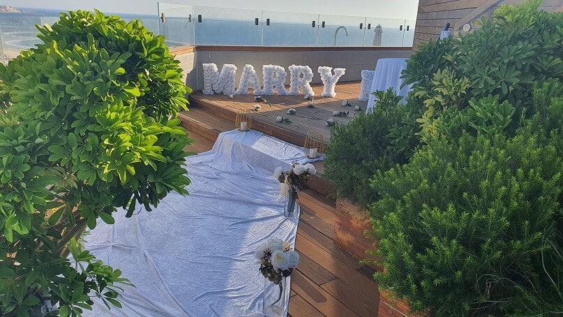 הצעת נישואין בתל אביב במלון מרכז נריה & תמר(19.7.20)00020