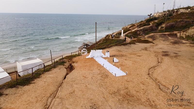 הצעת נישואין בחוף בהרצליה במרכז אדם & ירדן(8.11.20)00207