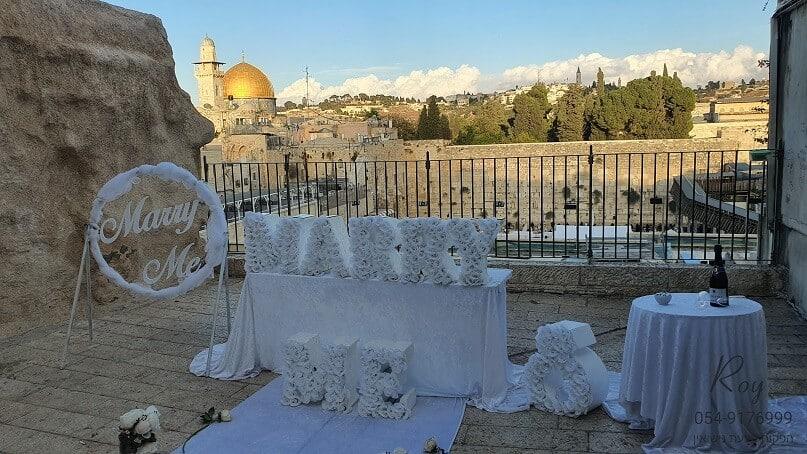 הצעת נישואין בכותל המערבי ירושלים נחשון & מיכל(5.11.20)00070