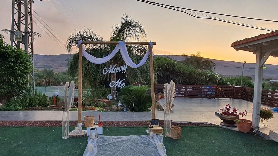 הצעת נישואין חופה במבוק בהוזרעים לד טבריה בצפון דניאל & מיכל(17.11.20)00008