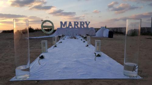 הצעת נישואין החוף בהרצליה חוף הצוק 1.8.19