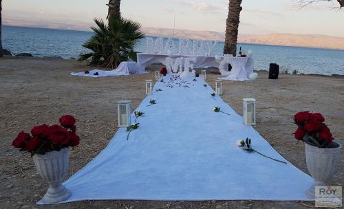 הצעות נישואין בטבריה חוף בכנרת 15.7.19